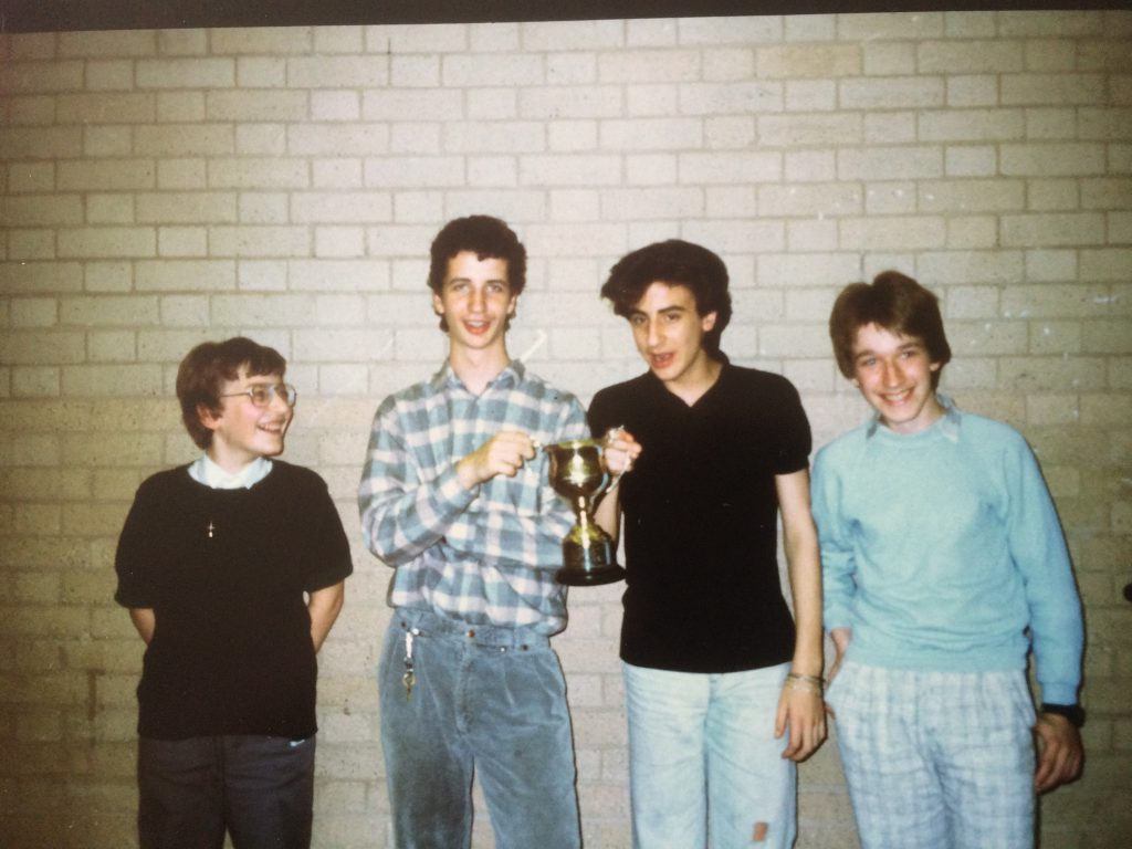 Pergammon British Team Lightning Championship 1987