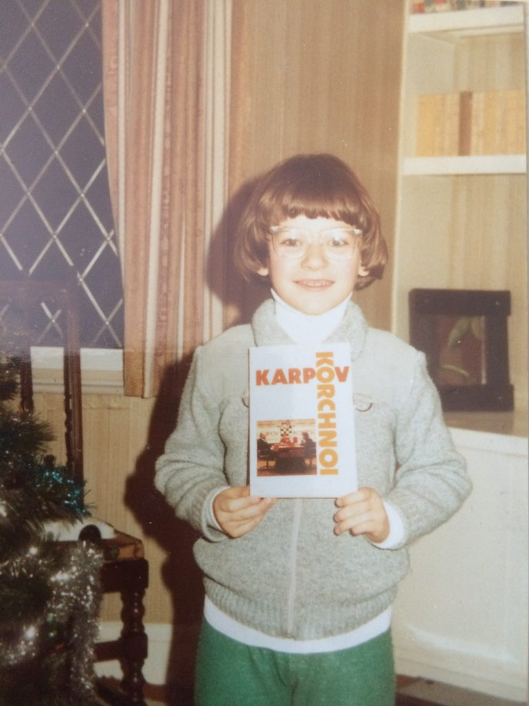 Christmas 1981 – my first chess book!
