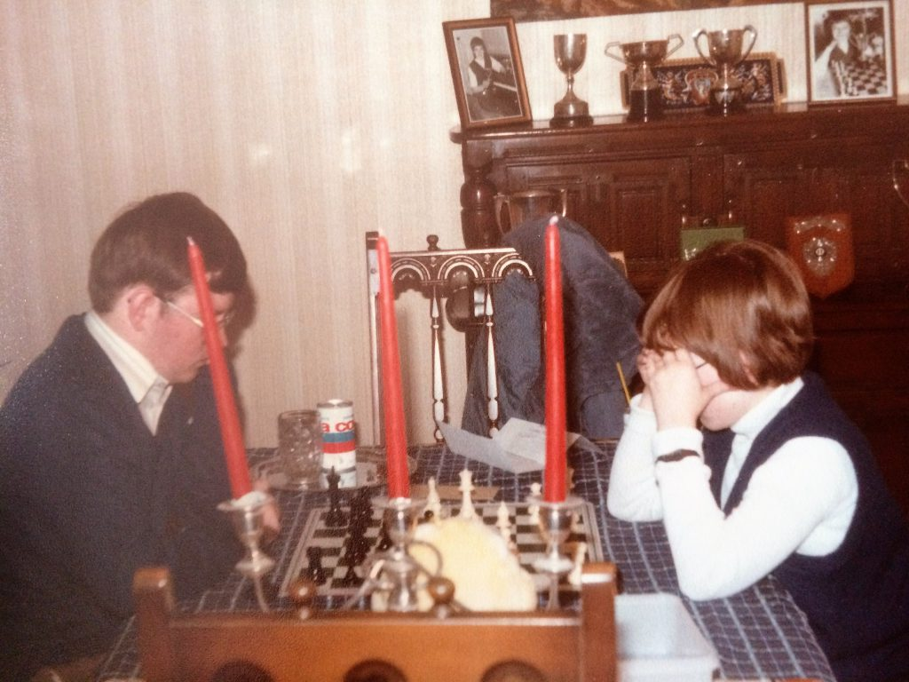 Chess coaching 1983