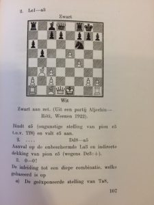 """""""Strategy and Tactics in the Middlegame"""" by Max Euwe Page 1"""