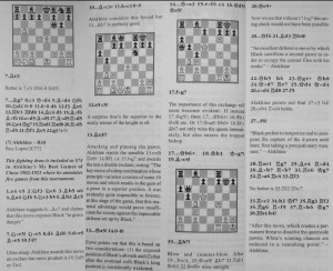Larry Evans' book of the Vienna 1922 tournament