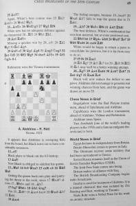 Chess Highlights of the 20th Century by Graham Burgess