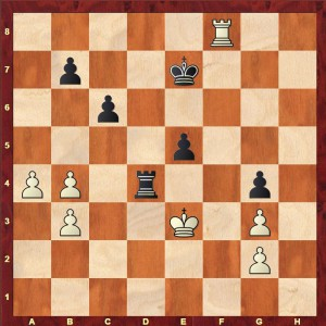 Chapman - Cherniaev Coulsdon 2008 after Black's 42nd move