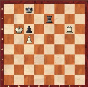 Burn - Spielmann San Sebastian 1911. White to move