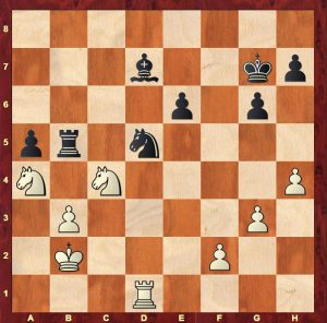 Position from Capablanca-Yates New York 1924