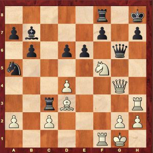 Yates-Colle, Hastings 1926. White to win!
